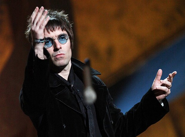 Liam Gallagher at the Brits 2010