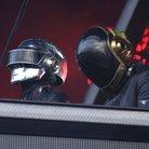 Daft Punk on stage