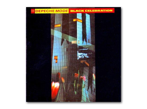Depeche Mode - Black Celebration album cover