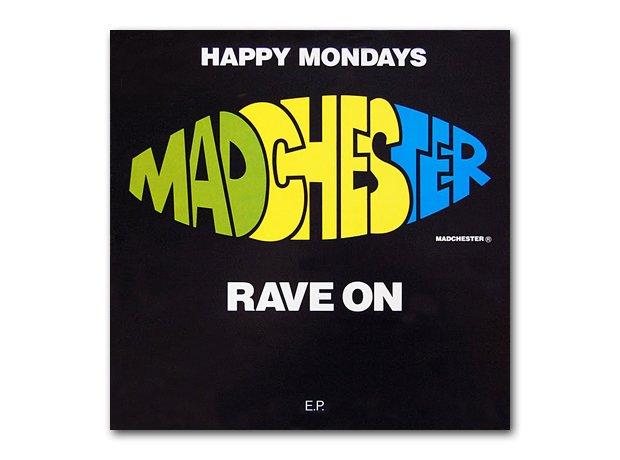 Happy Mondays - Madchester Rave On album cover