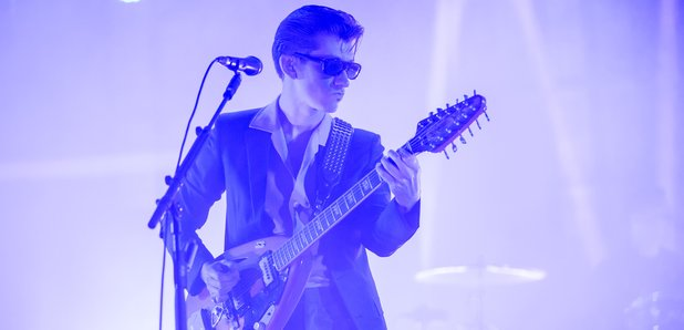 Arctic Monkeys live at the ituns festival 2013
