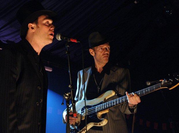 Damon Albarn and Paul Simonon