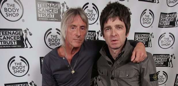 Resultado de imagen de Paul Weller Noel Gallagher