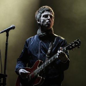 Noel Gallagher onstage at The O2, London March 201