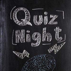 Quiz Night blackboard