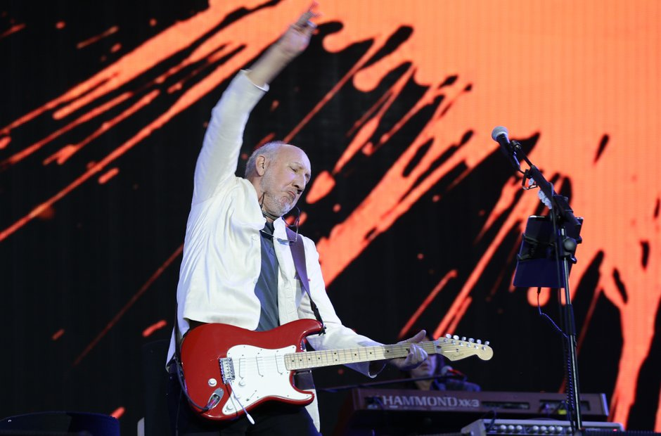 The Who at Glastonbury 2015