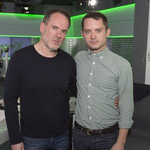 Chris Moyles and Elijah Wood Radio X Global Make S