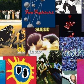 Classic 1990s album quiiz