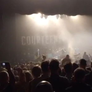 Courteeners Smoke Bomb Kentish Town