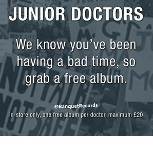Banquet Junior Doctors offer