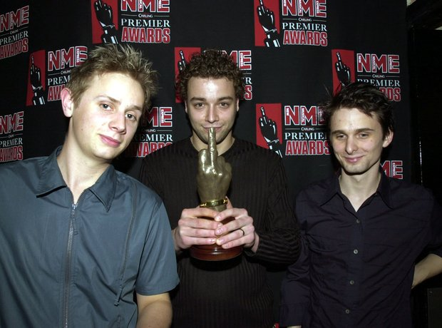 Muse at the NME Awards 2000