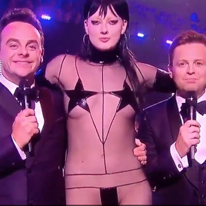 Sadie Pinn and Ant And Dec BRITS 2016