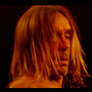 Iggy Pop Sunday video still