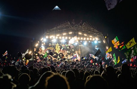 Glastonbury Pyramid Stage 2014