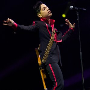 Prince performing in 2010