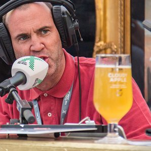 strongbow, johnny vaughan