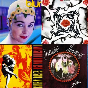 Best Albums of 1991 image Blur, Guns N Roses, Smas