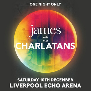 James and The Charlatans joint Tour image