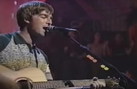 Noel Gallagher MTV Unplugged still YouTube