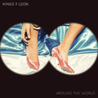Around The World Kings Of Leon artwork cover