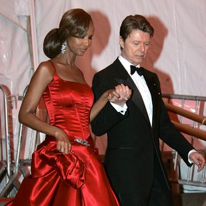Iman and David Bowie 2006