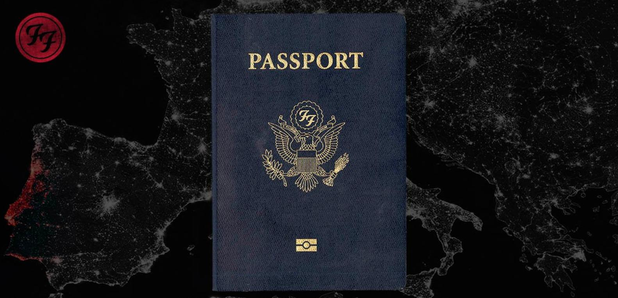 Foo Fighters Passport Tour Teaser Image
