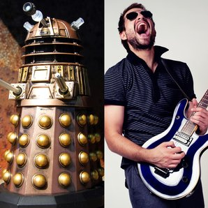 Doctor Who Monster Or Indie band