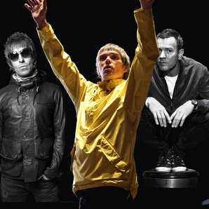 Ian Brown Liam Gallagher Ewan McGregor