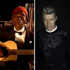 Seu Jorge in The Life Aquatic and David Bowie spli