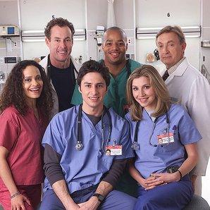 Scrubs TV show press shot 2001