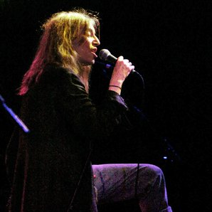 Patti Smith performing in 2004