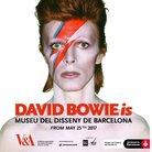 David Bowie Is Barcelona Poster Facebook