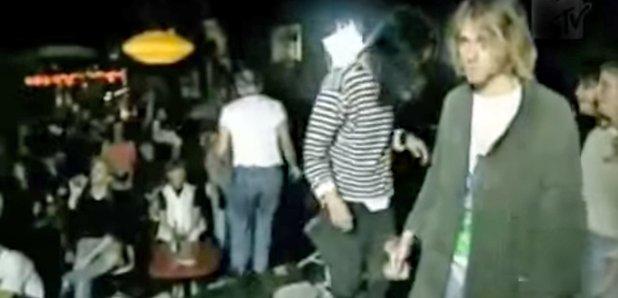 Nirvana playing Twister
