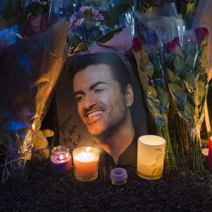 George Michael tributes outside Highgate Home 2016
