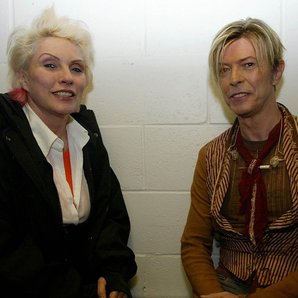 Debbie Harry David Bowie in 2003 The Reality Tour