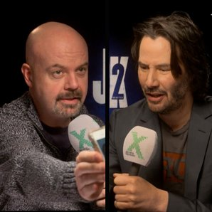 Dom and Keanu Reeves square Chris Moyles