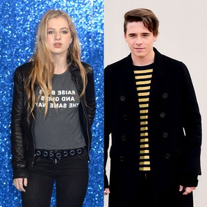 Anais Gallagher and Brooklyn Beckham