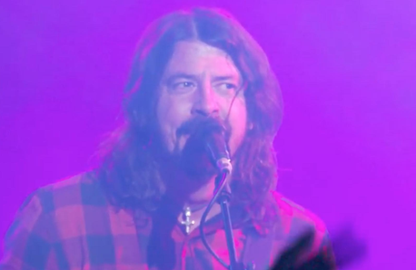 Dave Grohl Foo Fighters Cheese And Grain Frome 201