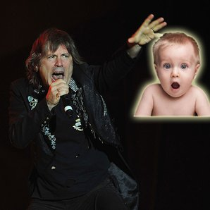 Iron Maiden Bruce Dickinson and shocked istock bab