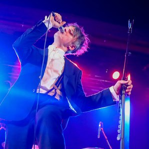 Pete Doherty performing February 2017
