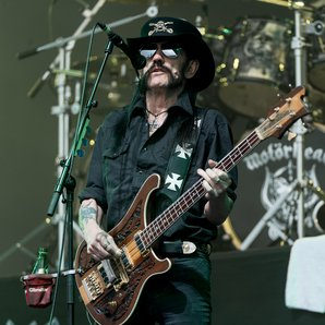 Lemmy Motorhead Glastonbury 2015