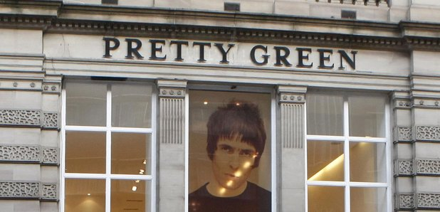 Liam Gallagher Pretty Green store Glasgow