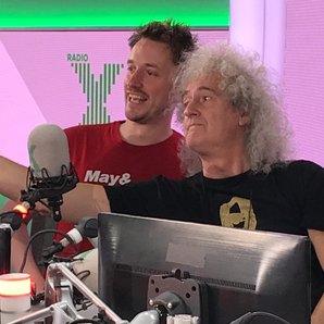John Robins and Brian May