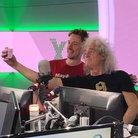John Robins and Brian May