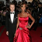 David Bowie and Iman in 2008
