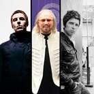 Liam Gallaher, Barry Gibb, Noel Gallagher