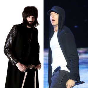 Serge Pizzorno Kasabian and Eminem