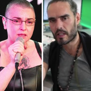 Sinead O'Connor and Russell Brand on Trews
