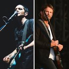Placebo's Brian Molko and Kings Of Leon's Caleb Fo