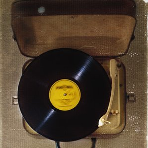 Suitcase vinyl